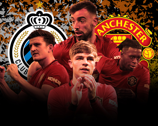 Europa League Club Brugge Manchester United  Down The Wings