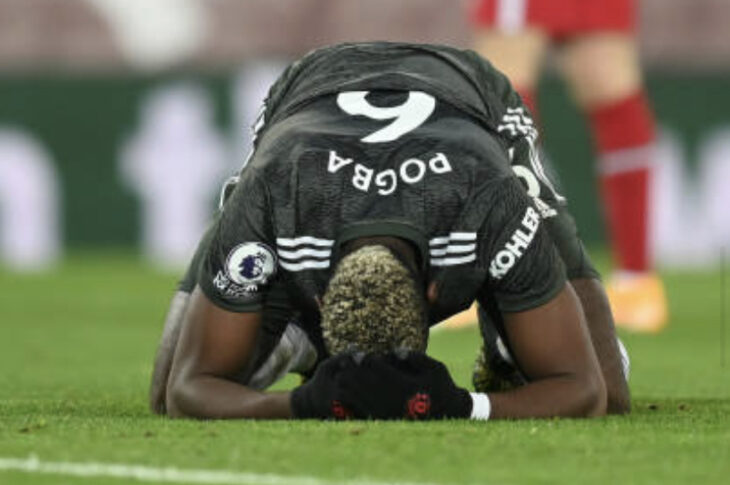 Pogba vs Liverpool Player Ratings