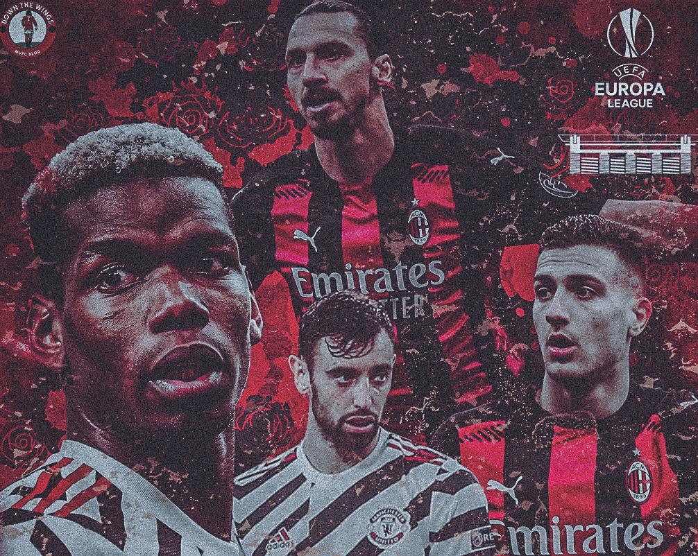 AC Milan vs Manchester United 18/04/2021 Europa League
