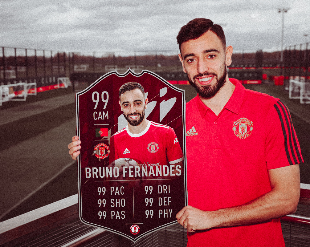 Manchester United FIFA 22 Ratings, Down The Wings MUFC